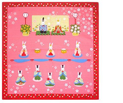 四季彩布 小ふろしき 16柄 タペストリー 風呂敷 (furoshiki10-4)