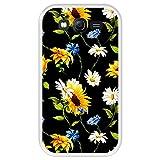 Hapdey Funda Transparente para [ Samsung Galaxy Grand Lite - Grand Neo - Neo Plus ] diseño [ Patrón Floral, Flores Multicolores 2 ] Carcasa Silicona Flexible TPU