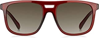 فوسيل نظارة شمسية للرجال ، بني