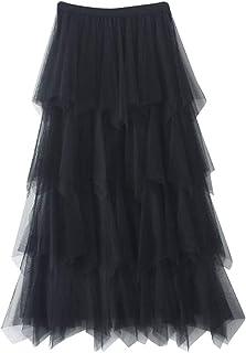 ca39533a3 Amazon.es: falda tul negra - Plisada / Faldas / Mujer: Ropa