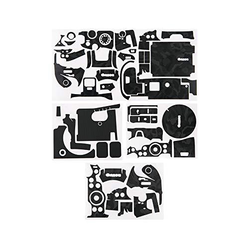KIWIFOTOS Adhesivo protector para cámara Canon EOS R6, 3M antiarañazos, adhesivo para cámara réflex digital, color negro