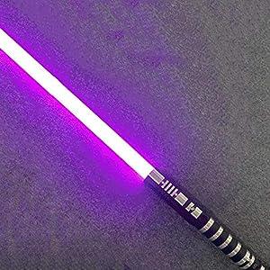 gengyouyuan Espada Espada de Juguete emisora de luz para niños,garantía de un año 7