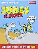 Jokes & More - Kalender 2019: Englische Witze und Cartoons - Harenberg