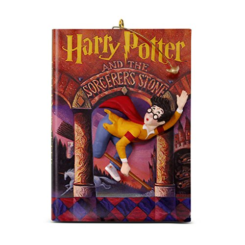 Hallmark Keepsake Christmas Ornament 2018 Year Dated, Harry Potter and The Sorcerer's Stone 20th Anniversary