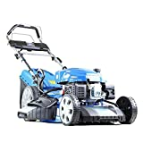 Hyundai HYM530SPE 224cc Petrol Lawnmowers Self Propelled Push Button Electric Start 21 Inch