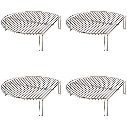 Why Choose Kamado Joe Classic Joe Stainless Steel Grill/Smoker Expander Cook Rack (4 Pack)