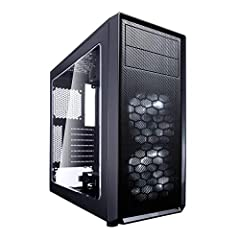 Contemporary ATX case design: accommodates high-performance components with smart and efficient space utilization for a compact footprint Showcase your hardware: large windowed side panel included High airflow: 2x preinstalled Fractal Design Silent S...