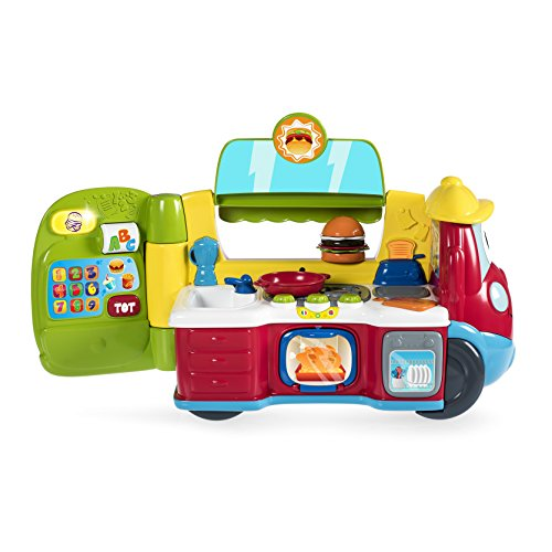 Chicco 00007416000000 Food Truck 2 in 1, Rot