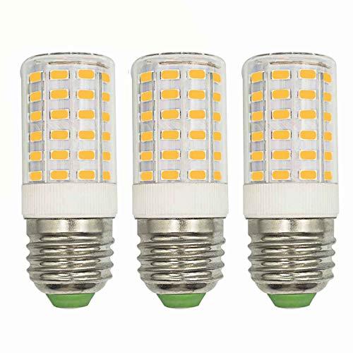 E26 Refrigerator LED Light Bulb No Flicker 7W (60W 100W 70W Equivalent) Warm White 3000K 1000 Lumen AC 100-265V E26 Medium Screw Base Freezers Fridge Non-Dimmable 360°Beam Angle Lighting (Pack of 3)