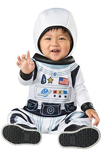 InCharacter Astronaut Tot Infant Costume, Medium (12-18) White
