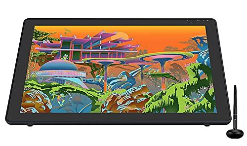 Xyfw Monitor De Tableta De Pintura De Arte Digital con Pantalla De Lápiz Gráfico 21,5 Pulgadas con Vidrio Grabado Antirreflejo 140% Srgb
