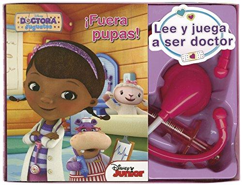 Dra Juguetes. Lee y juega a ser doctor: ¡Fuera pupas! (Disney. Doctora Juguetes) (Spanish Edition)