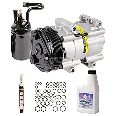 AC Compressor & A/C Kit For 1994 Ford Ranger V6 Mazda B3000 B4000 w/Factory Installed R134a Air Conditioning - BuyAutoParts 60-81662RK NEW