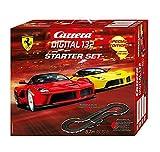 Carrera Digital 132 Starter Set | Rennbahn mit zwei Fahrzeugen | Alle Fahrzeuge mit Front- und Rücklicht | indiviuell codierbar | Spielzeug für Kinder ab 8 Jahren und Erwachsene
