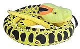 Wild Republic Serpiente Peluches Jumbo Serpente di Peluche Anaconda, Giocattolo coccolone, 280 cm, Multicolore, 21689