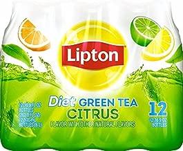 Lipton Diet Green Tea with Citrus, 12-Pack, 16.9 oz Bottles
