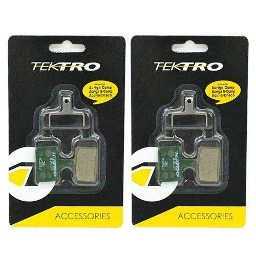 Tektro E10.11 Metal Ceramic Disc Brake Pads Auriga, Draco, Orion, 2 Pack, STB1788
