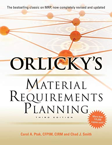 Download Orlicky's Material Requirements Planning, Third Edition 0071755632
