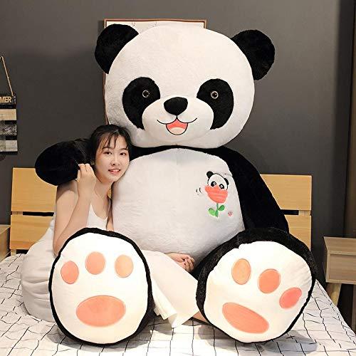 KXCAQ 60cm-100CM Lindo muñeco de Panda Grande de Peluche Animales Almohada niños cumpleaños Juguetes de Dibujos Animados Almohada Grande...