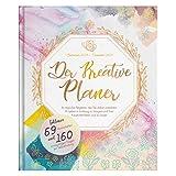 Wochenplaner 2019 2020 - Der Kreative Planer - 4-in-1 - Einzigartige Mischung aus Planer, Bullet Journal, Malbuch für Erwachsene und Tagebuch inkl. 69 Ausmalseiten - 18.5cm x 22cm, Kalender...