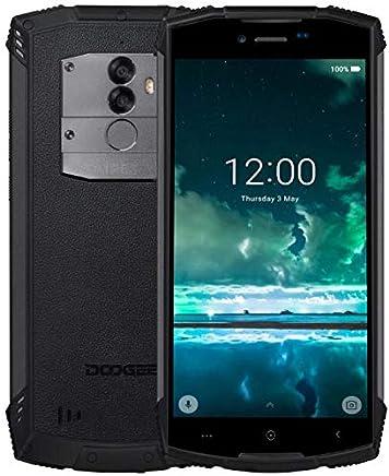 DOOGEE S55 Lite - 5.5 Pulgadas (relación 18: 9) Android 8.1 Smartphone al Aire Libre, IP68 Impermeable Antipolvo, Carga rápida de la batería 5500mAh, Ouad Core 2GB + 16GB - Negro