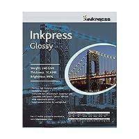Inkpress pcug5750Commercial光沢インクジェット用紙5で。X 7In。50シート
