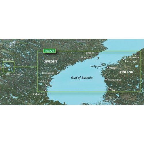 Read About Garmin VEU472S - Gulf of Bothnia, Center - SD Card