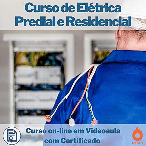 Curso on-line em videoaula de Elétrica Predial e Residencial com Certificado