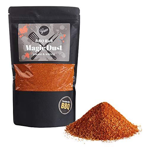 Gepp's Feinkost Magic Dust Rub | 600g XXL Rub | BBQ Gewürz mit Raucharoma, frei von künstlichen Zusätzen | Ideal zum Grillen - Marinieren von Fleisch | Hergestellt nach eigener Rezeptur