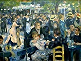 World of Art Auguste Renoir Dance at The Moulin de la