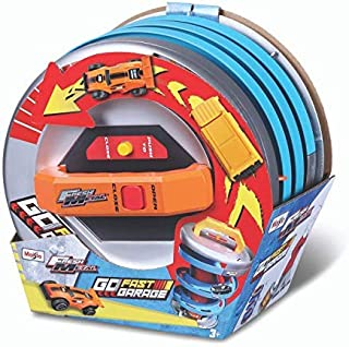 Maisto Fresh Metal Go Fast Garage 2 Vehicles Included, Assorted