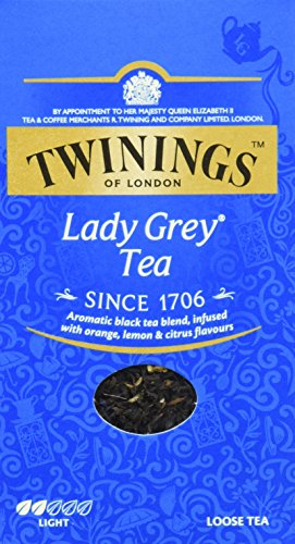 Twinings Lady Gray loose tea 200g, 2-pack (2 x 200 g)