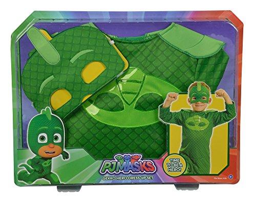 Simba 109402094 PJ Masks-Kostüm Gecko, 104-122