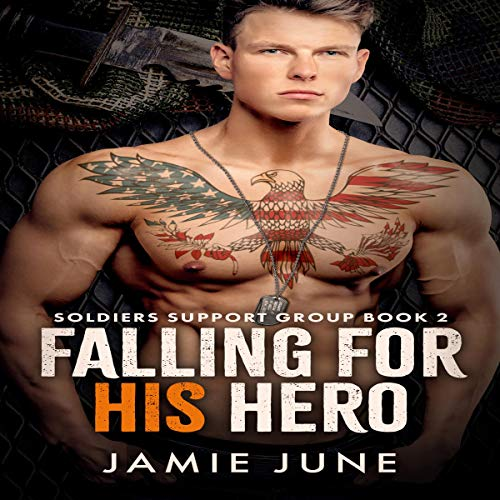 Falling for His Hero cover art