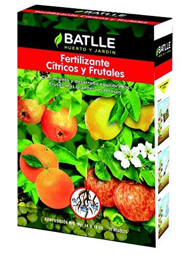 Abonos - Fertilizante Cítricos y Frutales Caja 1,5 Kg. -