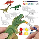 OceanWings Dinosaur Painting Kits for Kids Toys, Arts and Crafts Set for Kids Ages 4-12,DIY Paint Dinosaur Animal Set Creativity Gifts Toys Party Favors Supplies for Kids Boys Girls