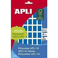【APLI】 手書き角丸カラーラベル 56片 (AP-02751) [オフィス用品]