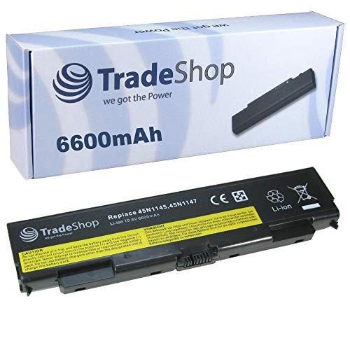 Akku 10,8V 6600mAh für Lenovo ThinkPad L440 L540 T440 T440P T540 T540P W540 ersetzt 45N1144 45N1145 45N1148 45N1149 45N1150 45N1151 45N1158 45N1159