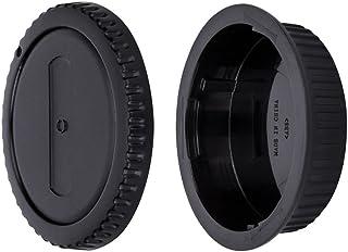 JJC Tapa de Cuerpo + Tapa del Objetivo de Cámara para Canon EOS DSLR & Canon EF/EF-S Mount Objetivo (Conjunto de 1)