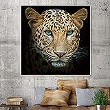 XIANRENGE Leinwanddrucke,Tier Gepard Hd-Drucken Poster