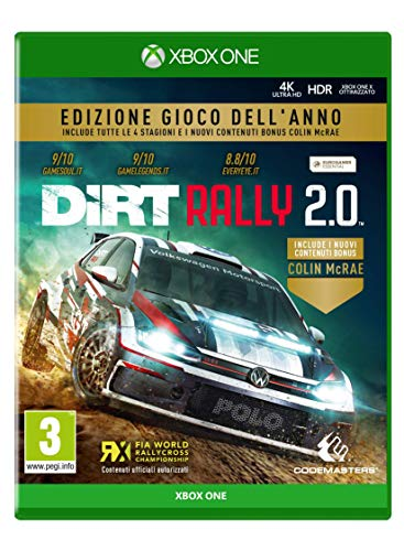 DiRT Rally 2.0 GOTY - Game of The Year - Xbox One [Importación italiana]