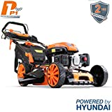 P1PE Hyundai Engine P5100SPE 173cc Petrol Lawnmowers Self Propelled Electric Start 20 Inch 51...