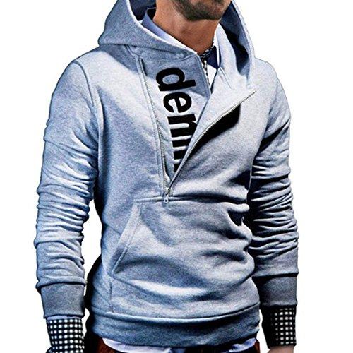 FRAUIT Mode Patchwork Langarm Kapuzenpullover Herren Männer Pullover Sweatshirt Mantel Stand Kragen Pullover Hoody Jacke Outwear Baumwolle Volle Größe
