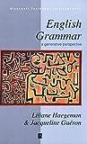 English Grammar (Blackwell Textbooks in Linguistics)