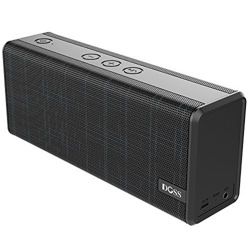 DOSS SoundBox Color Portable Wireless Bluetooth Speakers with 12W Stereo Sound and Enhanced Bass, 12H Playtime and Handsfree