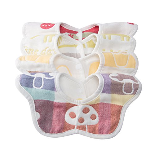 Baby Girls' Novelty Baby Bibs
