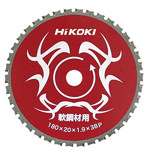 日立工機 ハイコーキ チップソー 軟鋼材用 180mmX20 38枚刃 00325635