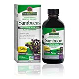 Nature's Answer Sambucus Dietary Supplement, Original for Daily Immune and Antioxidant Support   Made in The USA   Alcohol-Free, Gluten-Free & Vegan 4oz (Pack 1)