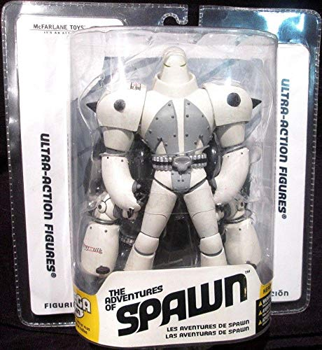SPAWN # 30 Animated - Omega Spawn 18cm Actionfigur [Import allemand]