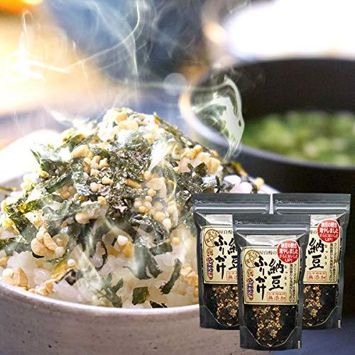 ご飯のお供セット(通宝 納豆ふりかけ3個+からし高菜1個)